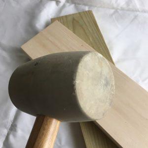 クロスステッチ,ワンポイント,くるみぼたん,作り方,固い,はまらない
