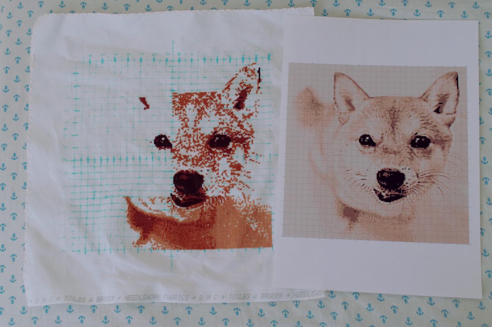 【174】gakumamaさんから仕上がりイメージと作成途中のお写真を頂きました☆