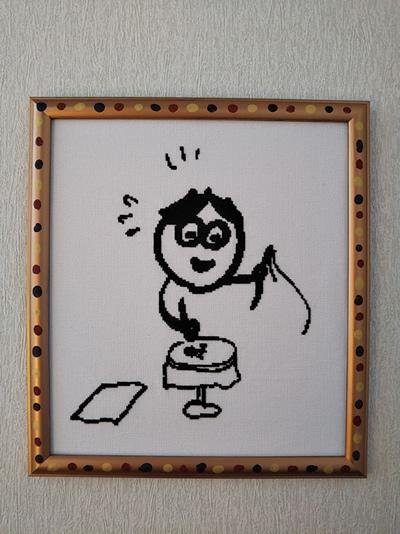 【193】ケイさんから仕上がりイメージと完成作品の掲載許可を頂きました☆